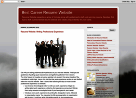 bestcareerresumewebsite.blogspot.com