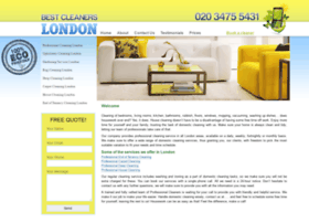 bestcleanerslondon.co.uk