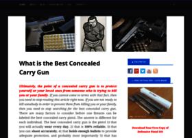 bestconcealedcarrygun101.com