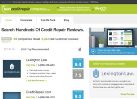 bestcreditrepaircompanys.com