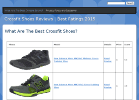bestcrossfitshoes.drupalgardens.com