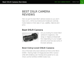 bestdslrcamerareviews.com