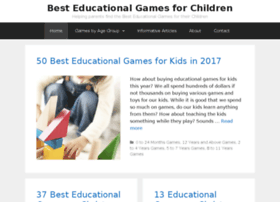 besteducationalgamesforchildren.com