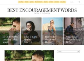 bestencouragementwords.com