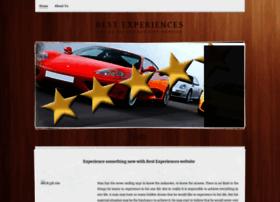 bestexperiences.weebly.com
