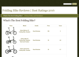 bestfoldingbike.drupalgardens.com