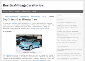 bestgasmileagecarsreview.com