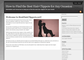 besthairclippers.net