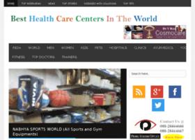 besthealthcarecentersintheworld.com
