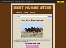 besthorsesites.net