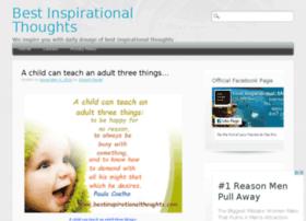 bestinspirationalthoughts.com