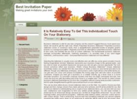bestinvitationpaper.com
