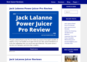 bestjuicerreviews.net