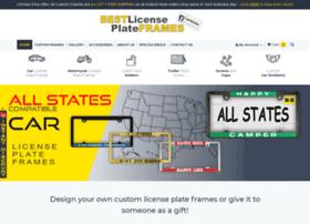 bestlicenseplateframes.com