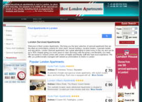 bestlondonapartments.com