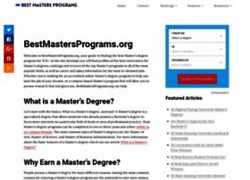 bestmastersprograms.org