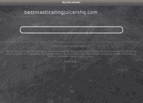bestmasticatingjuicershq.com