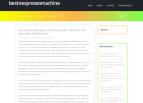 bestnespressomachine.com