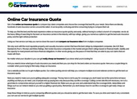 bestonlinecarinsurancequote.com