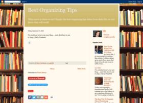 bestorganizingtips.blogspot.com