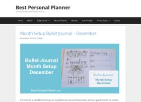 bestpersonalplanner.com