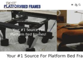 bestplatformbedframes.com