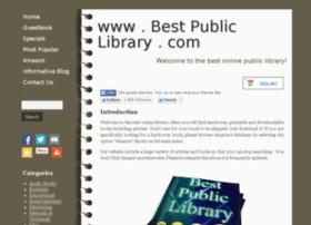 bestpubliclibrary.com