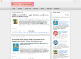 bestrecruitmentindia.blogspot.in