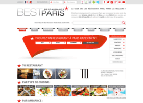 bestrestaurantsparis.com