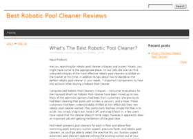 bestroboticpoolcleanerdeals.drupalgardens.com
