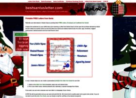 bestsantasletter.com