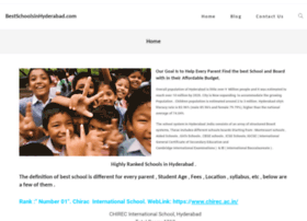 bestschoolsinhyderabad.com