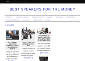 bestspeakersforthemoney.com