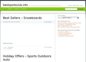 bestsportsclub.info
