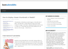 bestsubreddits.com