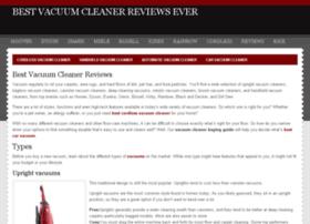 bestvacuumcleanerreviewsever.com