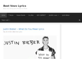 bestvevolyrics.com
