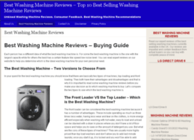 bestwashingmachinereviews.org.uk