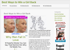 bestwaystowinagirlback.com
