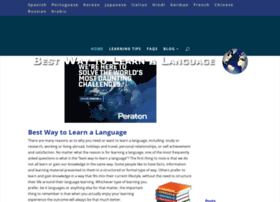 bestwaytolearnalanguage.net