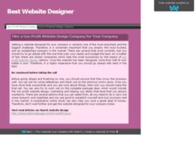 bestwebsitedesigner.sitew.org