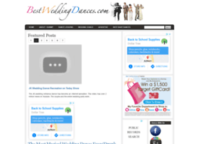 bestweddingdances.com