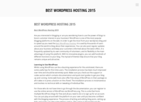 bestwordpresshosting2015.wordpress.com