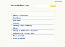besuretotest.com