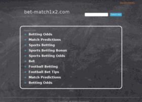 bet-match1x2.com