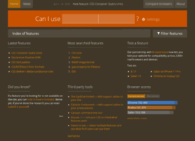 beta.caniuse.com