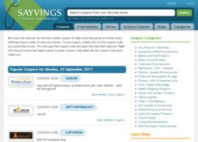 beta.sayvings.com