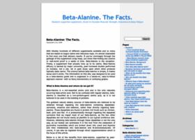 betaalanine.info