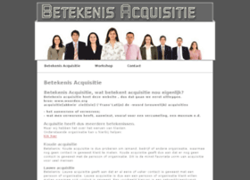 betekenis-acquisitie.nl