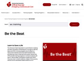 bethebeat.heart.org